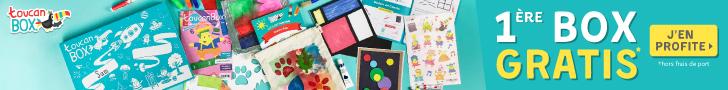 toucanBox : box créatives de loisirs pour enfants