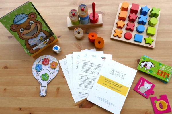 Location de jouets pour enfant de 0 à 4 ans